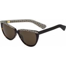 White-orla-kiely-ladies-tilda-sok014-0arw-brown-and-sunglasses